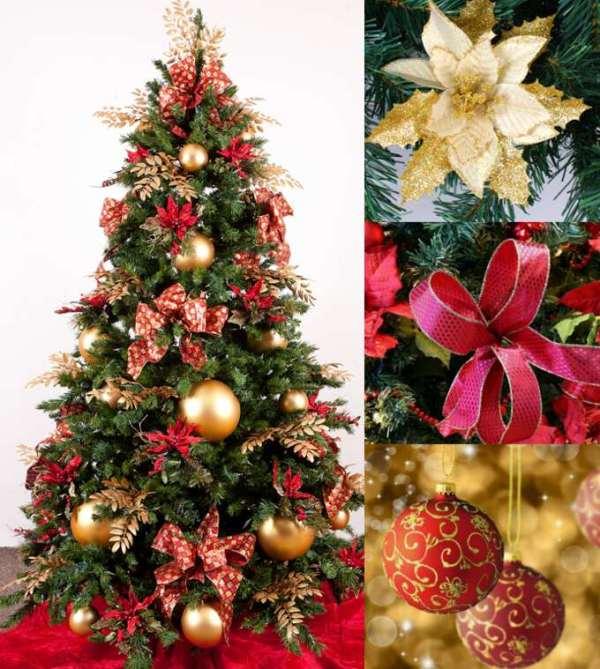 Идеи, как украсить елку на новый год 2017 красиво