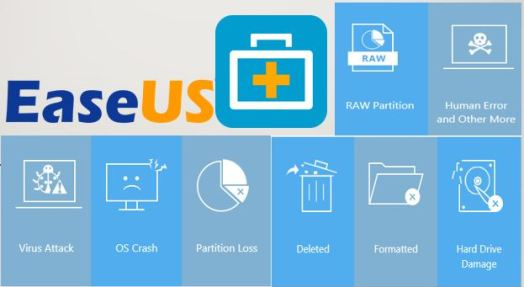 EaseUS Data Recovery Wizard 13.3 Crack + Key Download [2020]