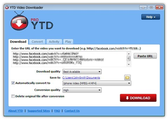 YTD Video Downloader Pro Crack Keygen for Mac