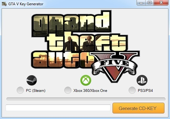 GTA 5 License Key Generator