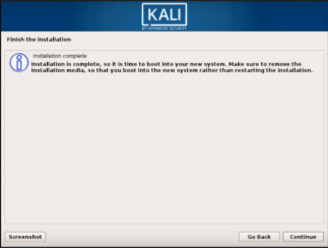 Step 10 Kali Linux - How to install Kali Linux