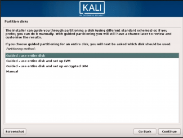 Step 5 Kali Linux - How to install Kali Linux