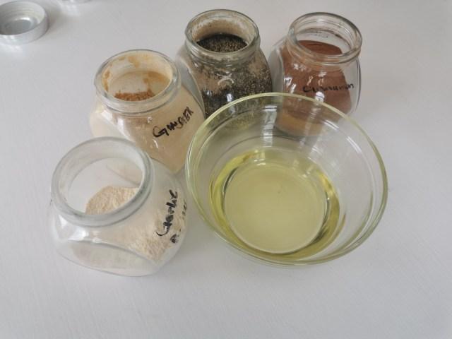 experiment materials
