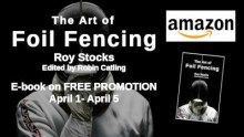 The Art of Foil Fencing Amazon ebook promo April 2020