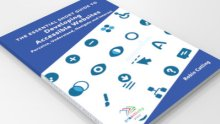 Short Guide cover: 'Developing Accessible Websites' Sampler