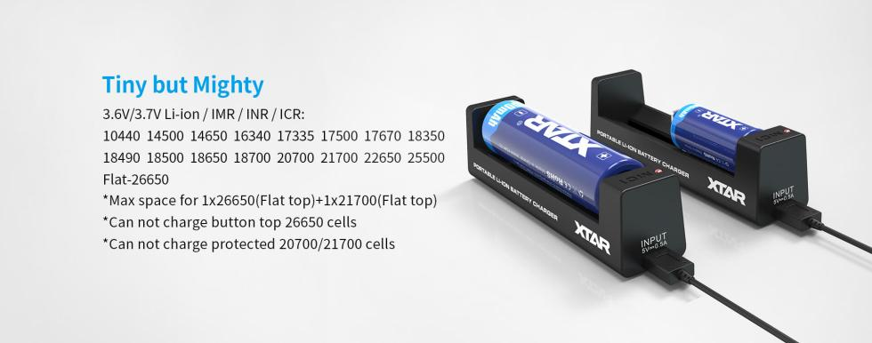 Xtar MC1 laturi 18650 akuille