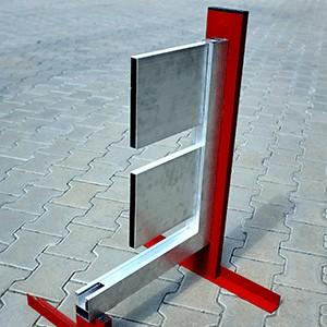 Hliníkové plotovky s rámovým profilem pro posuvné brány