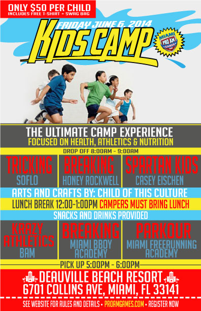 Miami Kids Summer Camp - ProAm Games