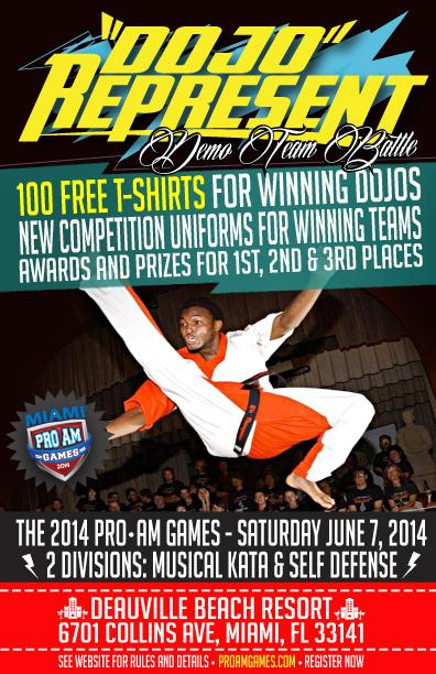 Miami Martial Arts Tournament ProAm Games