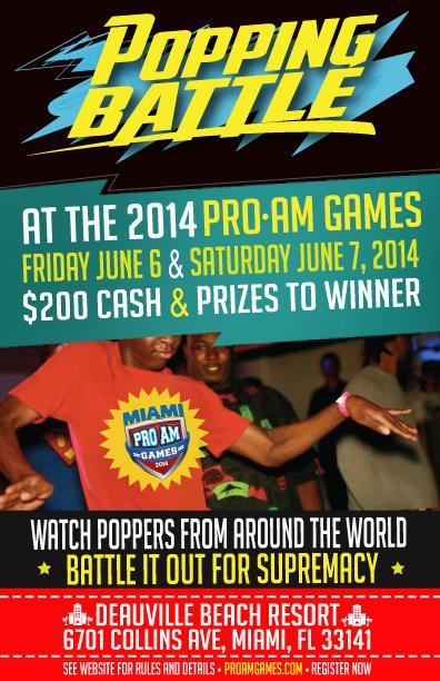 Miami Popping Battle ProAm 2014