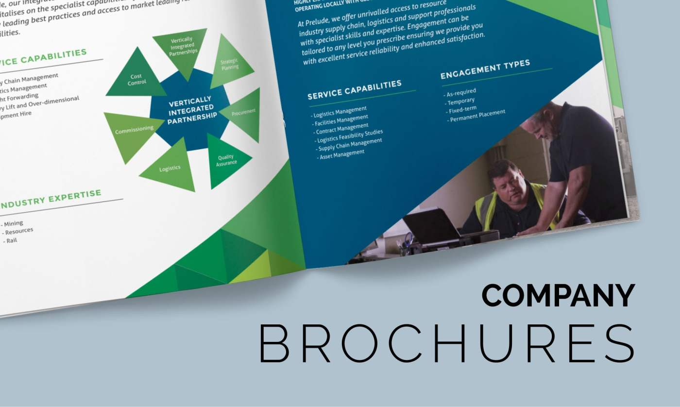 Company Brochures 1 - Our Work