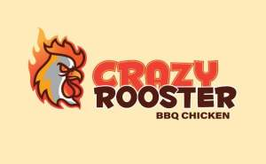 crazy rooster - Logos