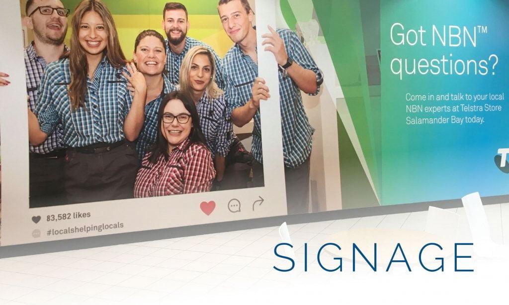 Signage 2 - Home Graphic Design