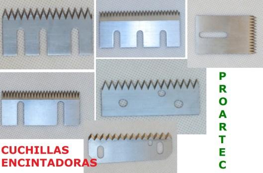 cuchillas dentadas encintadoras