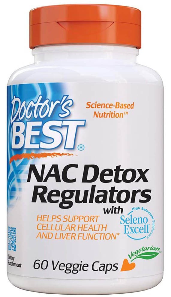 Doctor's Best NAC Detox Regulators with Seleno Excell