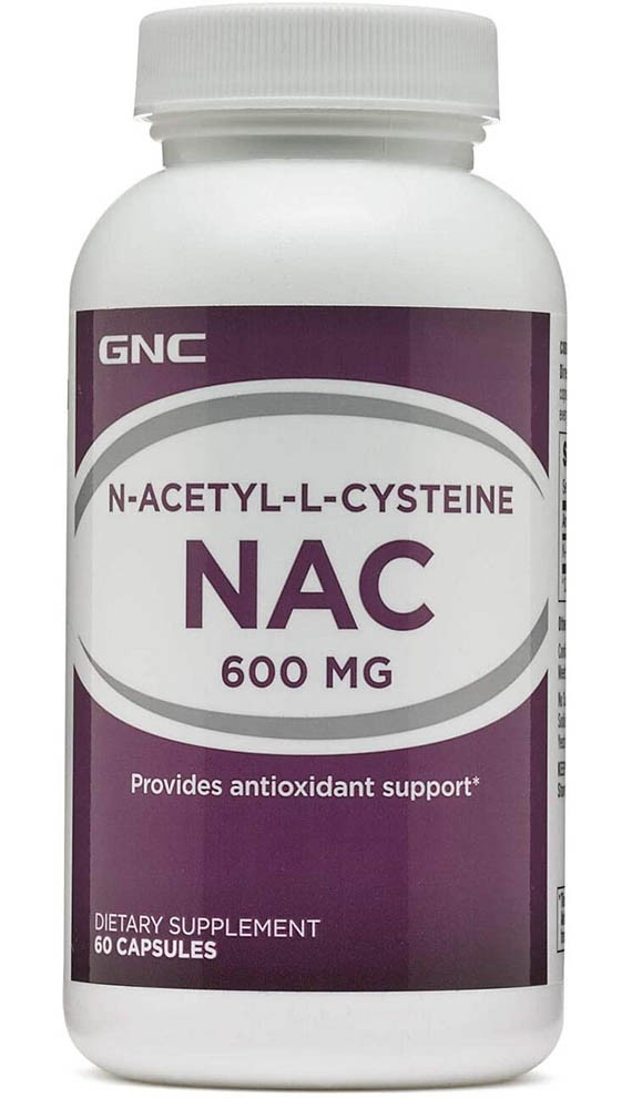 GNC N-Acetyl-L-Cysteine NAC
