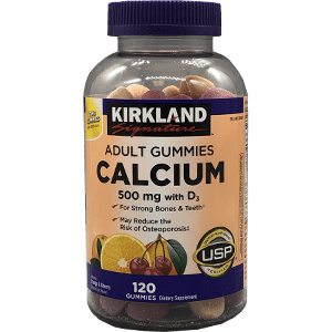 Kirkland Signature™ [Costco] Adult Gummies Calcium