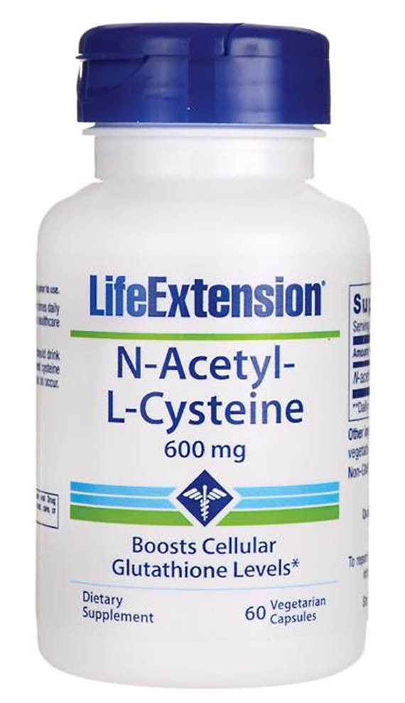 Life Extension- N-Acetyl Cysteine