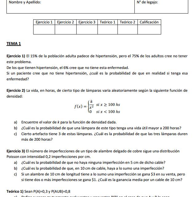 Parcial de Probabilidad y Estadística Resuelto [UTN-FRBA-Parte A – 28-09-2016] versión 1