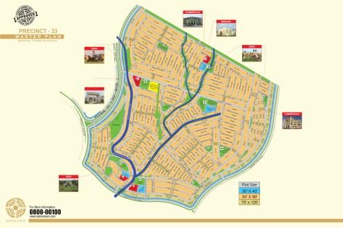 Precinct 33- Bahria Town Karachi