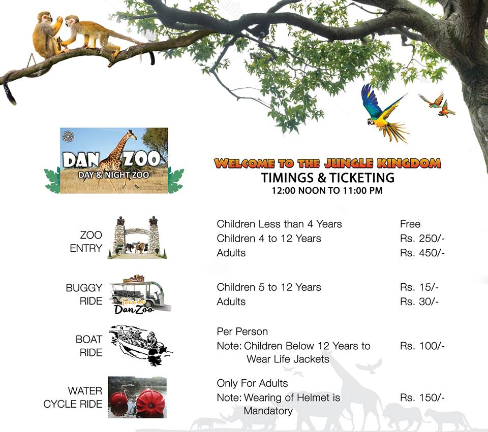 Probahriatown- Bahria town karcahi zoo timings