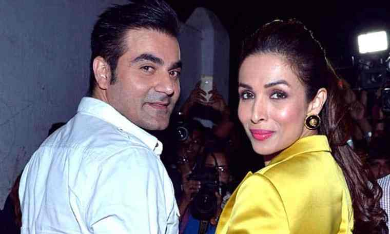 Indian actress Malaika Arora and husband Arbaaz Khan