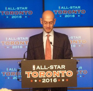 Adam Silver at Podium