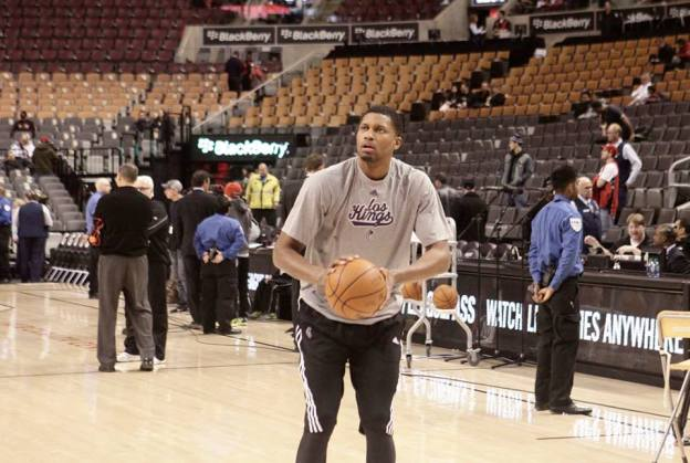 NBA Sacramento Kings Rudy Gay