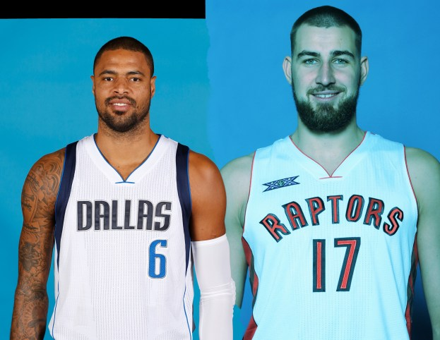 Valanciunas and Chandler