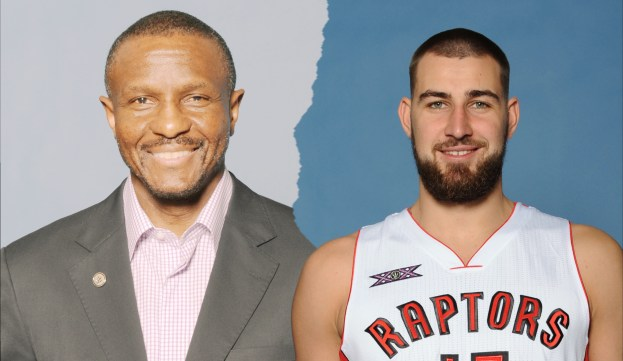 Valanciunas and Casey