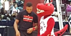 Kyle Lowry and Raptor