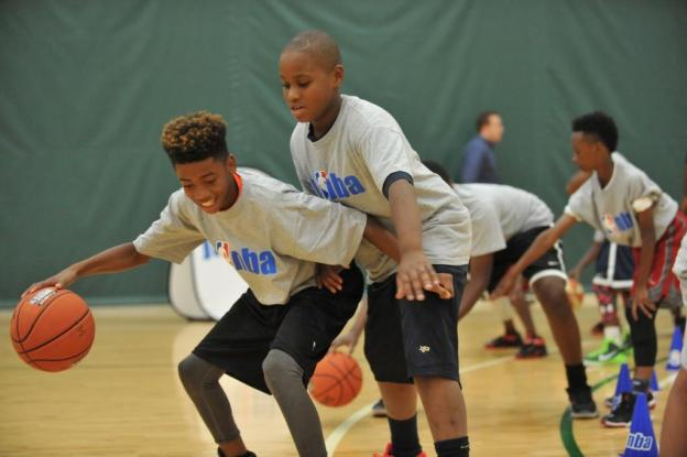 2016 NBA All-Star Centre Court Clinic