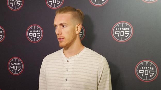 NBA D-League Raptors 905 E.J. Singler