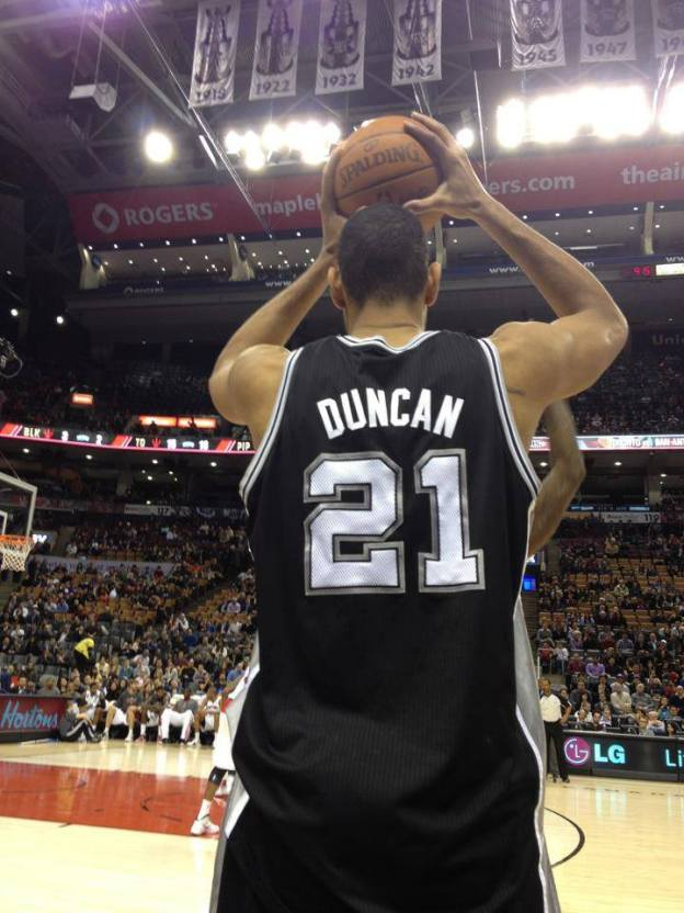 NBA San Antonio Spurs Tim Duncan