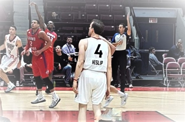 NBA D-League Mississauga Raptors 905 Brady Heslip