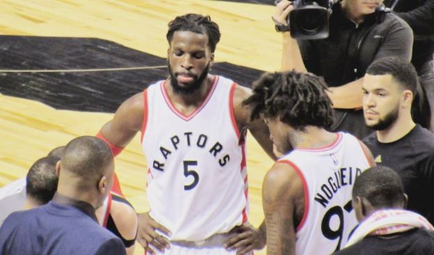 NBA DeMarre Raptors DeMarre Carroll