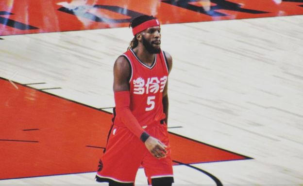 NBA Toronto Raptors DeMarre Carroll Brooklyn Nets