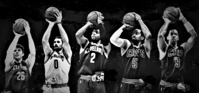 Cleveland Cavaliers shooters 2016-17