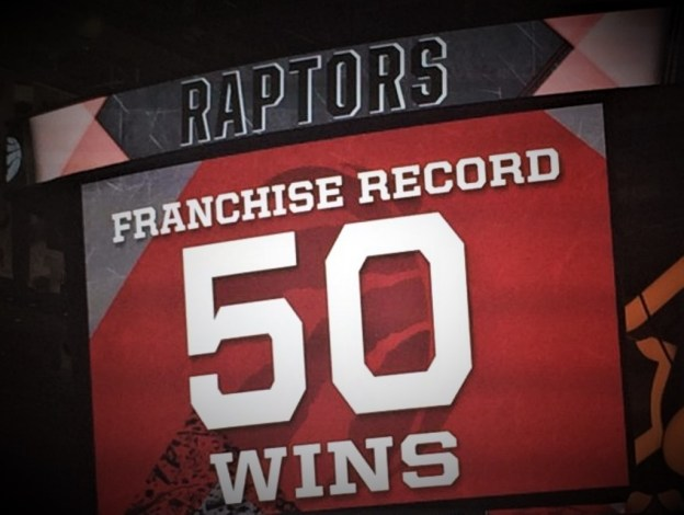 NBA Toronto Raptors 50 wins 2015-16 season