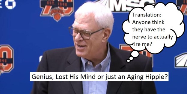 New York Knicks Phil Jackson meme