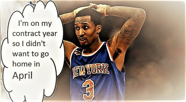 NBA Washington Wizards Brandon Jennings / New York Knicks