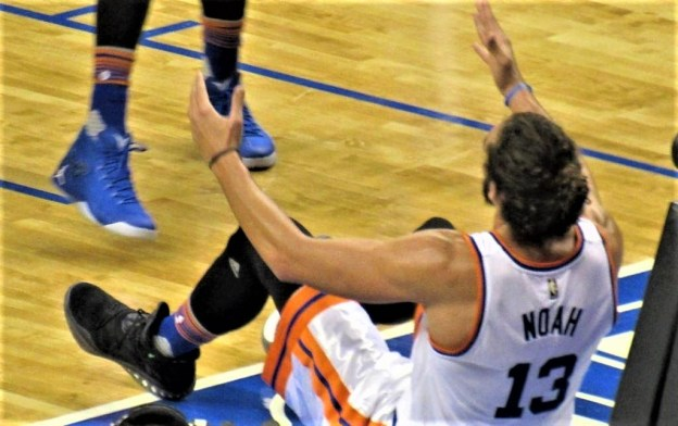 NBA New York Knicks Joakim Noah