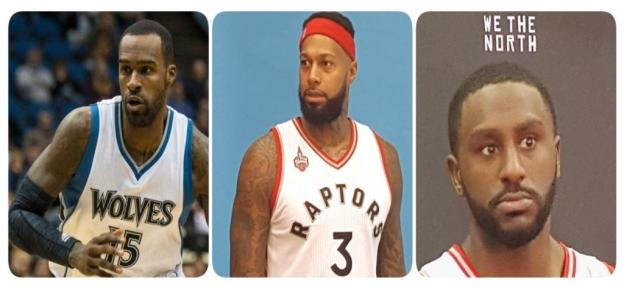 NBA Minnesota Timberwolves Shabazz Muhammad and Miami Heat James Johnson and Toronto Raptors Patrick Patterson