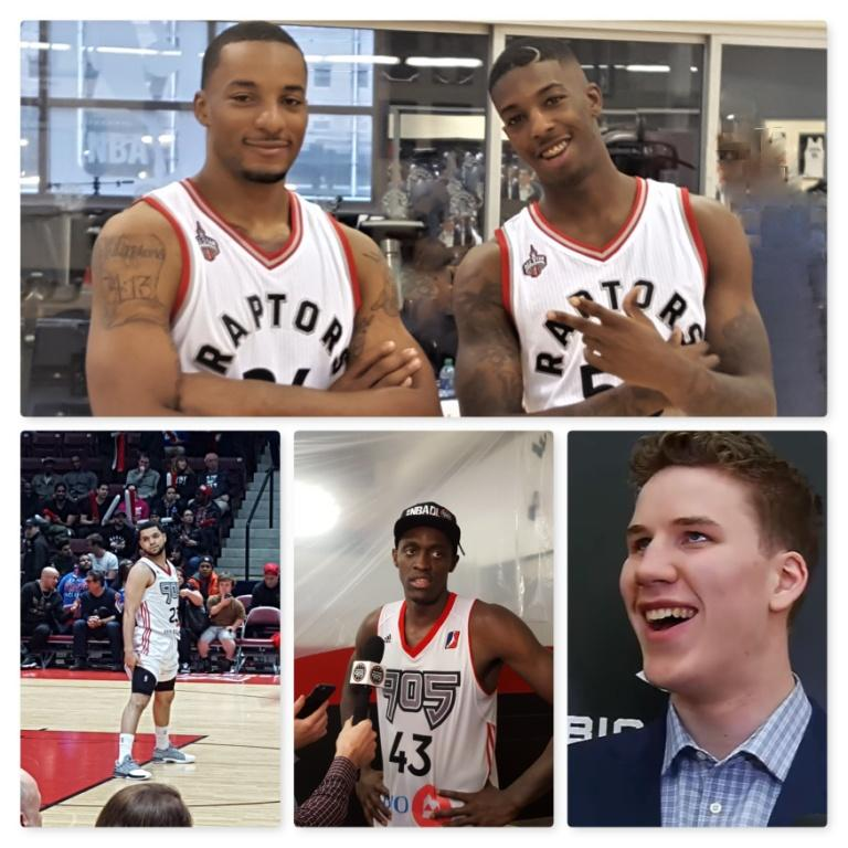 Raptors-wright-and-powell-and-vanvleet-and-siakam-and-poeltl-in-a-collage-compressed