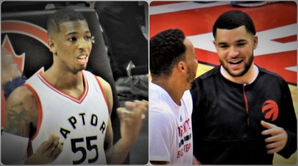 Raptors-delon-wright-and-fred-vanvleet-by-larry-millson-collage