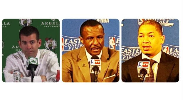 NBA Celtics Raptors Cavaliers coaches