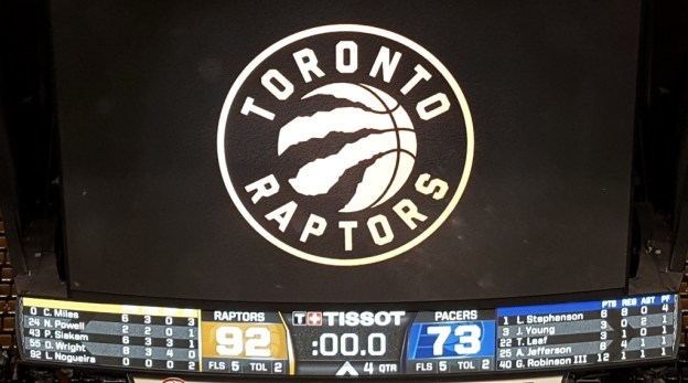 NBA Toronto Raptors win no 57