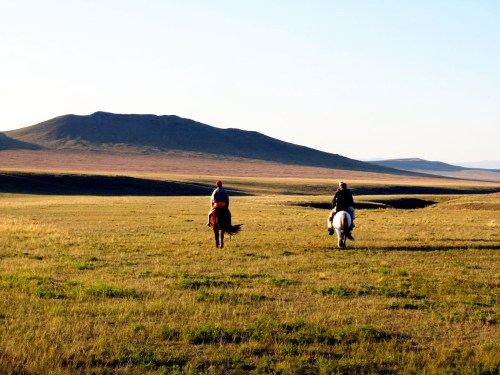 Horse riding one of the things to experience in Mongolia