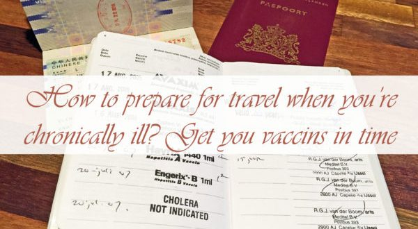 How to prepare for travel when cronically ill?