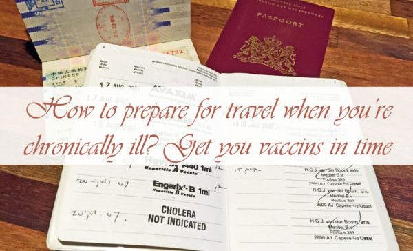 How to prepare for travel when chronically ill